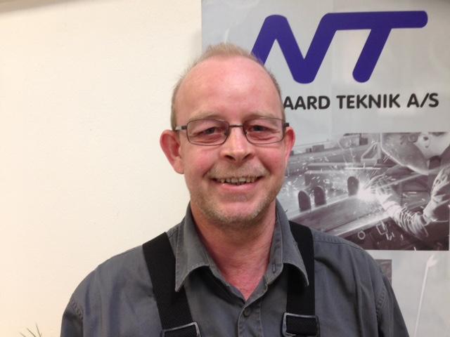 Ole Just har 25 års jubilæum hos Nørgaard Teknik