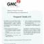 GMC 2020-2023 certifikat