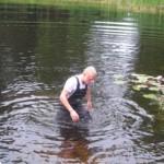 Dennis i søen